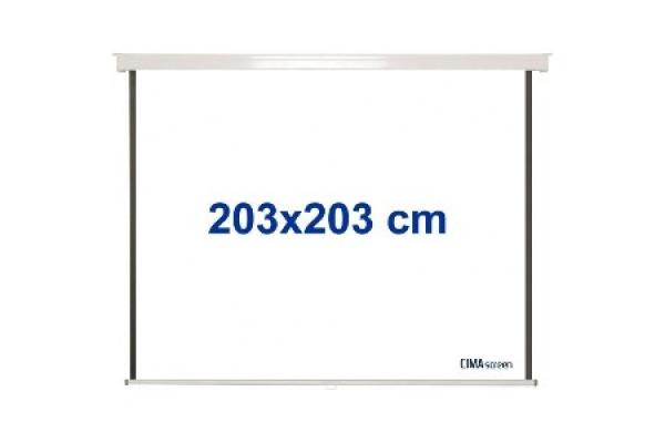 PANTALLA VIDEOPROYECTOR MANUAL CIMA CIS200 200X200 100PULG 1:1