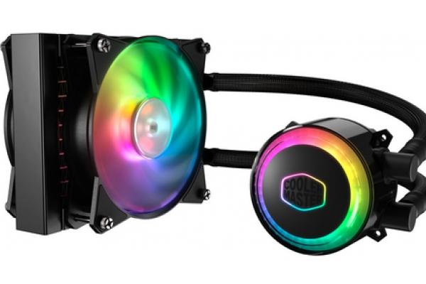 VENTILADOR CPU COOLER MASTER REFRIGERACION LIQUIDA MASTERLIQUID ML120R RGB