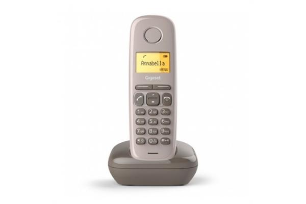 TELEFONO FIJO INALAMBRICO A170 MARRON GIGASET