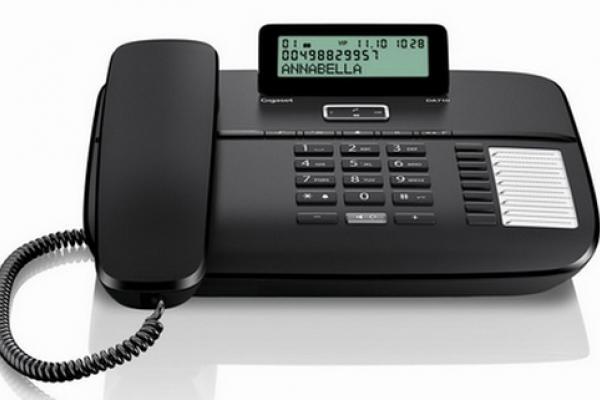 Gigaset Teléfono DA710 Negro