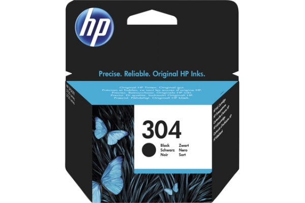 TINTA ORIGINAL HP 304 BLACK