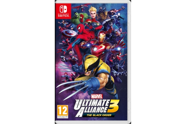 JUEGO NINTENDO SWITCH MARVEL ULTIMATE ALLIANCE 3