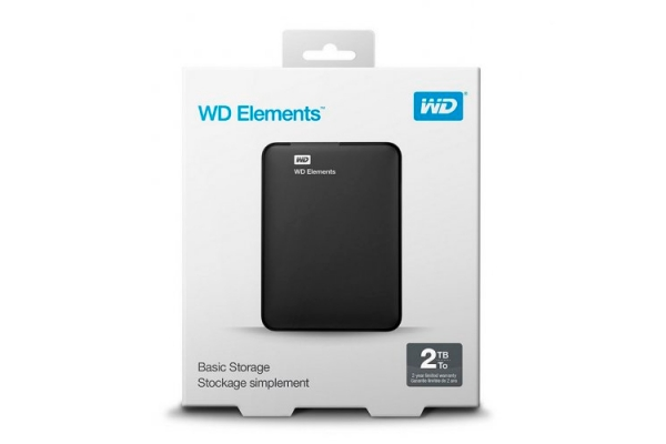 HD EXTERNO 2TB WESTERN DIGITAL ELEMENTS WDBU6Y0020BBK-WESN