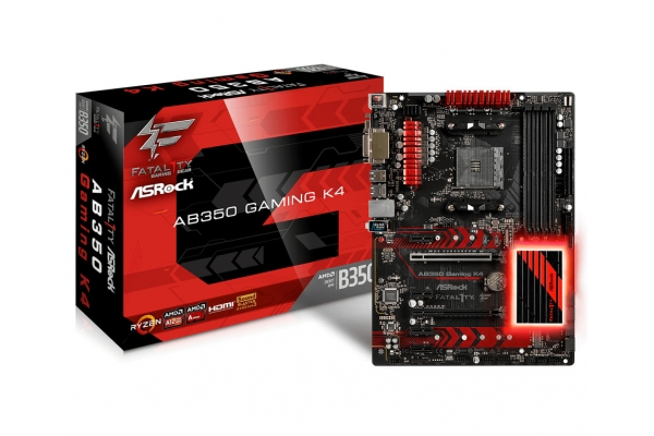 PLACA BASE AMD AM4 ASROCK FATALITY AB350 GAMING K4