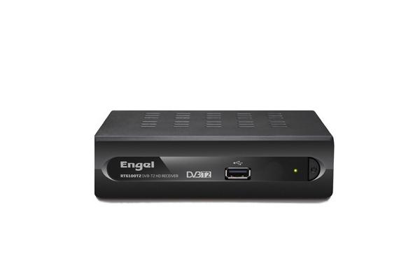 RECEPTOR DVB-T2  DOMESTICO ENGEL RT6100T2 ALTA DEFINICION CONEXION USB REPRO GRAB HDMI SCARTS SALIDA AUDIO DIGITAL  MKV HD  OCA