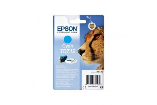 TINTA ORIGINAL EPSON T0712 CIAN
