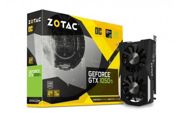 TARJETA GRAFICA GEFORCE ZOTAC GTX 1050TI 4GB OC