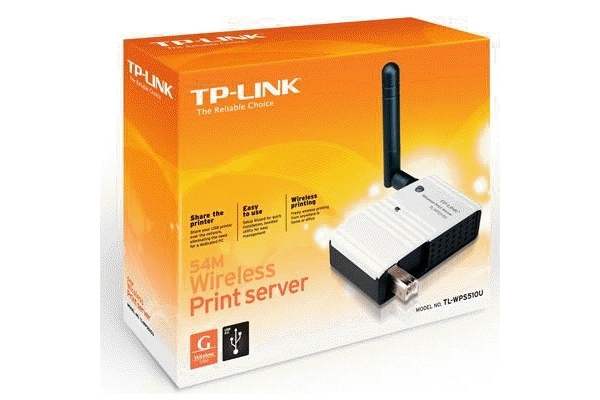REDES TP-LINK PRINT SERVER WIRELESS TL-WPS510U