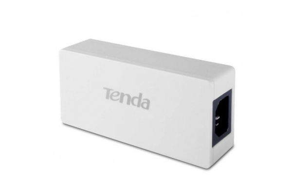 INYECTOR POE TENDA POE30G-AT - 2X PUERTO GIGABIT  HASTA 100M