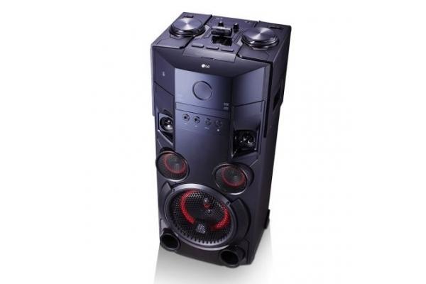 TORRE DE SONIDO LG XBOOM OM5560 500W HOME MUSIC BLUETOOTH FUNCION KARAOKE