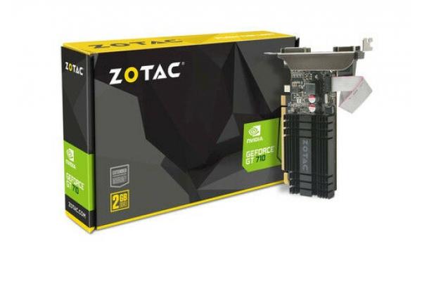 TARJETA GRAFICA ZOTAC GT710 2GB DDR3 ZT-71302-20L
