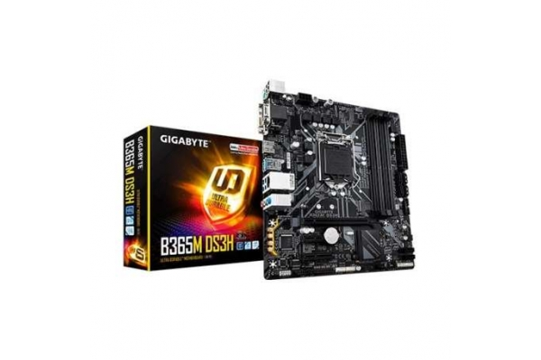 PLACA BASE GIGABYTE INTEL 1151 GEN 8ª 9ª I3 I5 I7 B365M DS3H