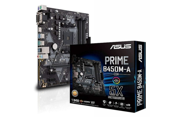 PLACA ASUS AMD AM4 ASUS PRIME B450M-A