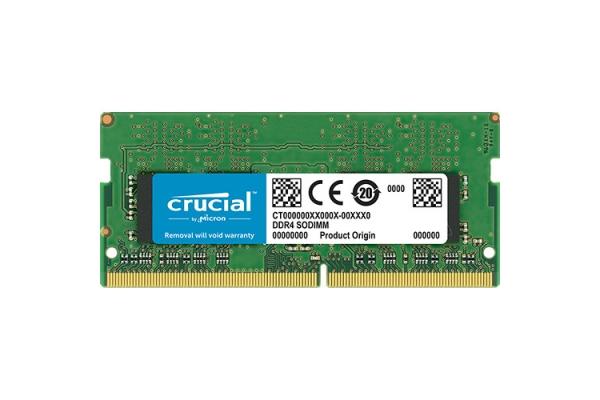 MEMORIA SODIMM 4GB DDR4 2666MHz CRUCIAL CT4G4SFS8266