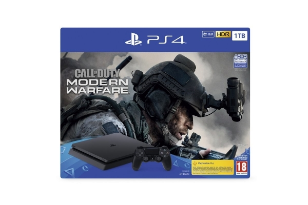 CONSOLA PS4 SLIM 1TB + CALL OF DUTY MW 2019