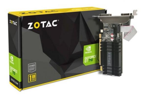 TARJETA GRAFICA GEFORCE ZOTAC GT 710 1GB DDR3 ZONE EDITION