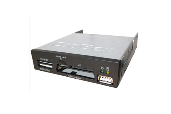 LECTOR MULTITARJETA INTERNO COOLBOX CF SD MMC SM CR-400