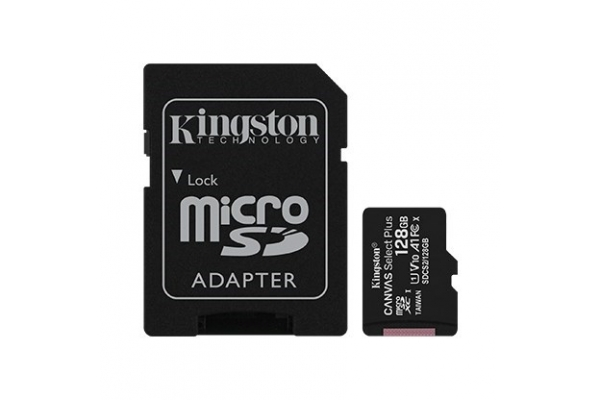 TARJETA MICRO SD 128GB KINGSTON SDCS2 128GB CLASE 10 UHS-I