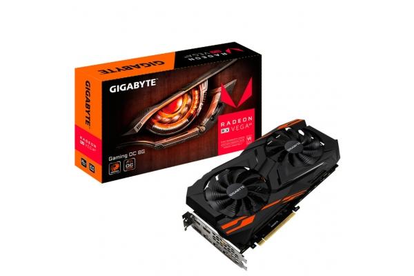TARJETA GRAFICA GIGABYTE RX VEGA 64 GAMING OC 8GB