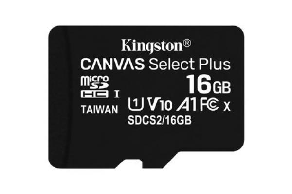 MEMORIA MICRO SD 16GB KINGSTON SDCS2 16GB CLASE 10 UHS-I