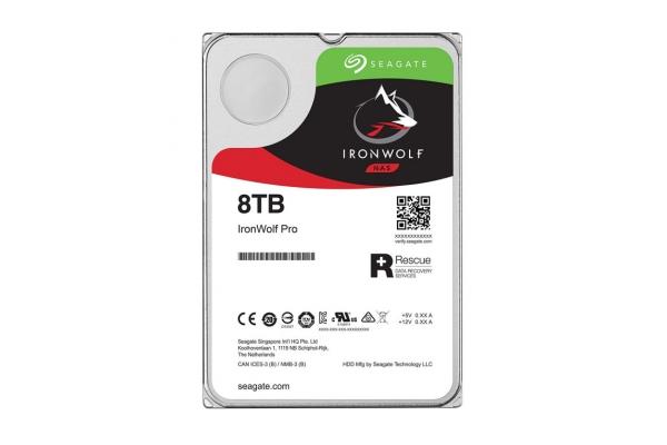 HD 3,5 SEAGATE IRONWOLF 8TB SATA 256MB