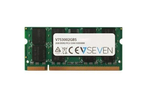 MEMORIA SODIMM 2GB DDR2 667 V7 V753002GBS