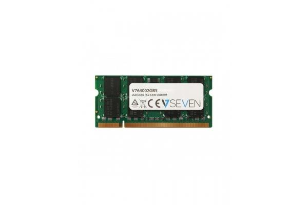 MEMORIA SODIMM 2GB DDR2 800 V7 V764002GBS