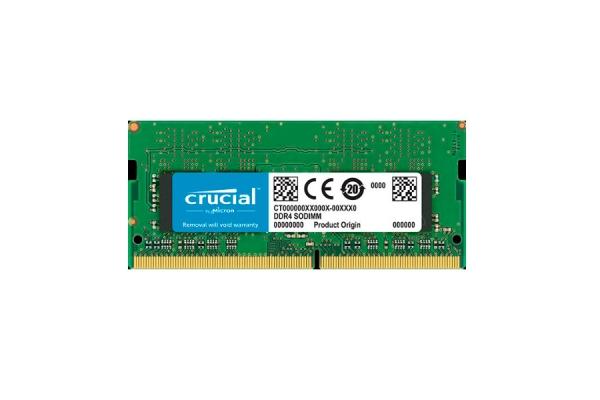 MEMORIA SODIMM 16GB DDR4 2666 CRUCIAL CT16G4SFD8266