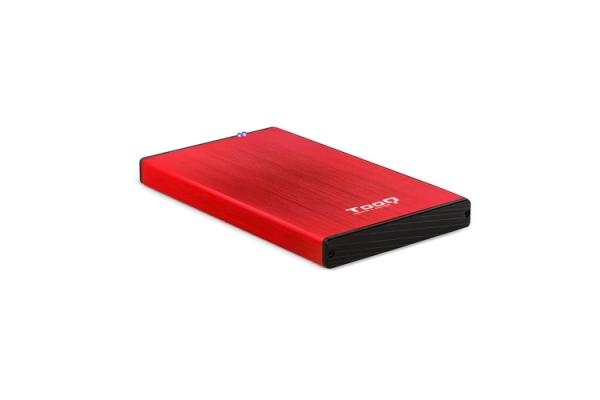 CAJA EXTERNA 2,5 3.0 TOOQ TQE-2527R RED