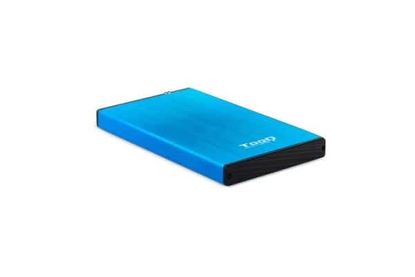 CAJA EXTERNA 2,5 3.0 TOOQ TQE-2527BL BLUE