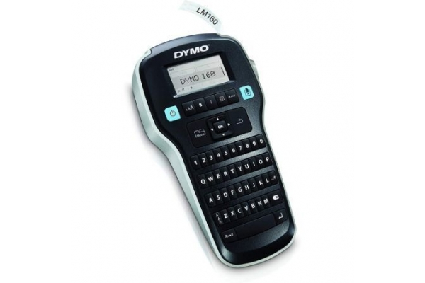 ROTULADORA DYMO LABEL MANAGER 160 V2  ANCHO ETIQUETA 1.2CM TECLADO QWERTY