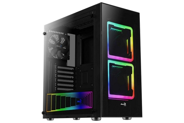 TORRE ATX AEROCOOL TOR USB 3.0 NEGRA 2 VENT RGB