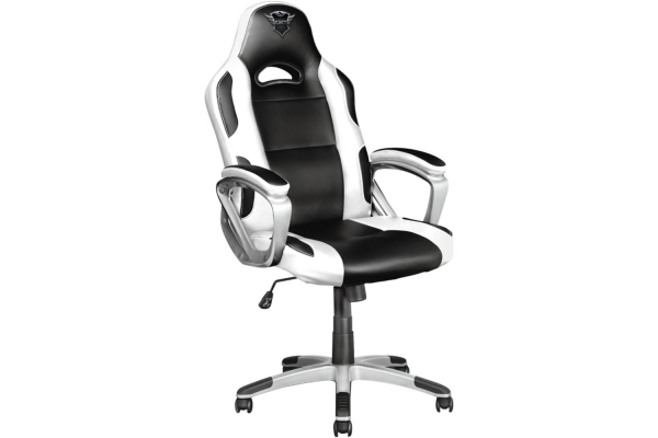 SILLA GAMING TRUST GAMING GXT 705W RYON BLACK AND WHITE 23205