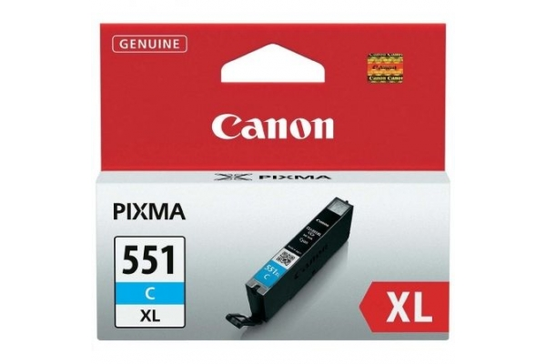 TINTA ORIGINAL CANON CLI-551C XL CIAN MG6350 MG5450