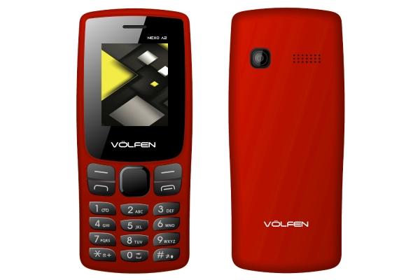 TELEFONO FACIL VOLFEN A2 ROJO 00135