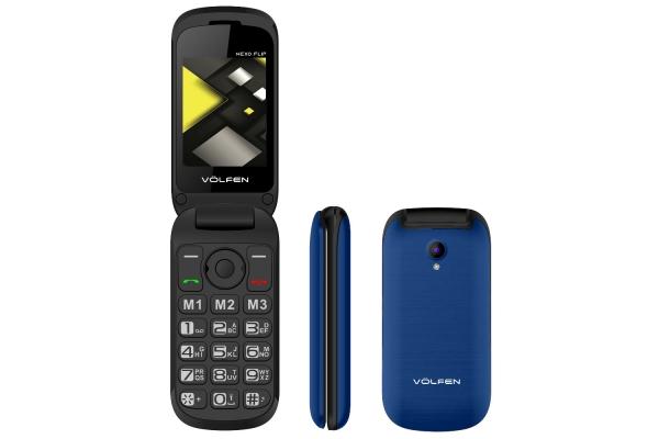 TELEFONO FACIL VOLFEN FLIP AZUL 00141