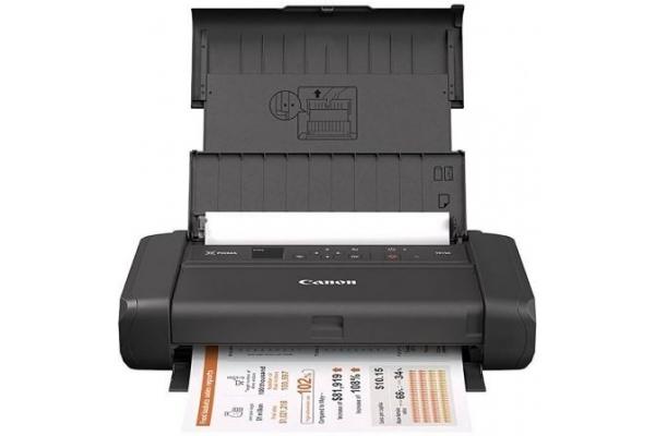 IMPRESORA PORTÁTIL CANON WIFI PIXMA TR150 - 9 5.5IPM - IMPRESIÓN SIN BORDES - 4800*1200 - PANTALLA OLED 3.7CM - USB TIPO-C - CART. PGI-35 CLI-36