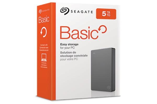 HD EXTERNO SEAGATE BASICS 5TB STJL5000400