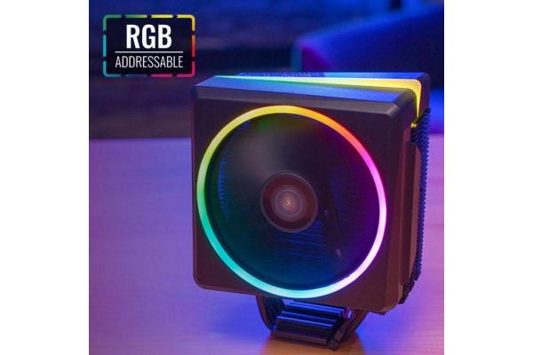 DISIPADOR CPU AEROCOOL CYLON4 RGB 145W RGB COMPATIBILIDAD INTEL AMD