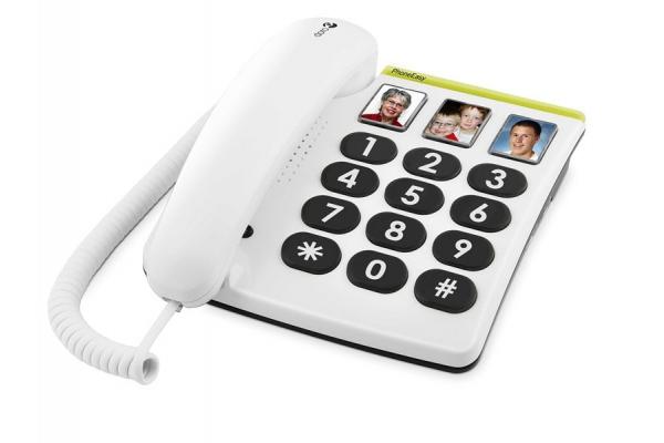 TELEFONO FIJO DORO PHONE EASY BLANCO