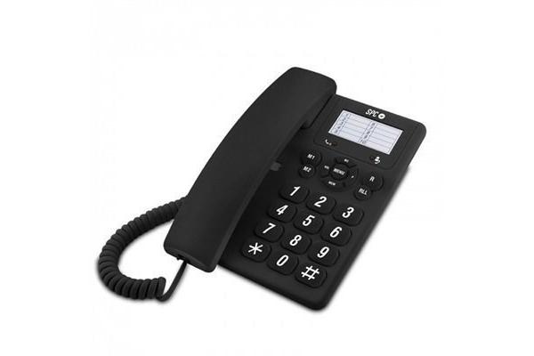 TELEFONO FIJO SPC 3602 ORIGINAL NEGRO