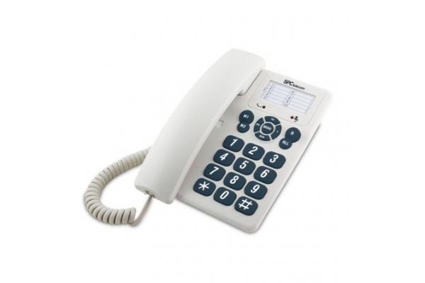 TELEFONO FIJO SPC 3602 BLANCO