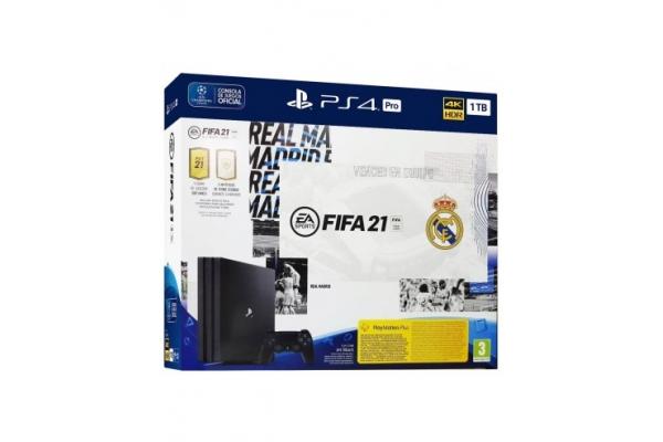 CONSOLA SONY PS4 PRO 1TB RM + FIFA 21