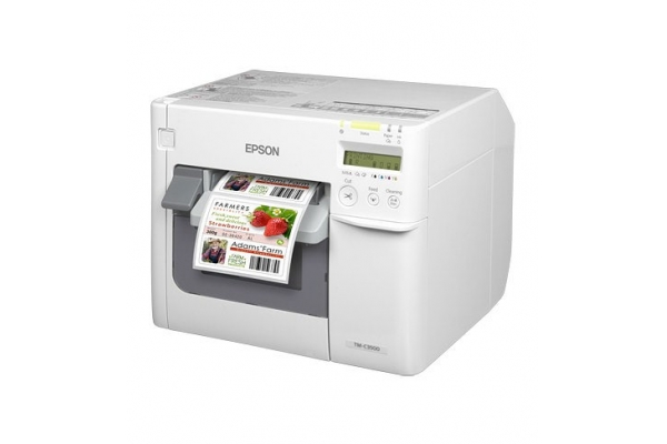 IMPRESORA EPSON TM-C3500 INYECCION ETIQUETAS COLOR