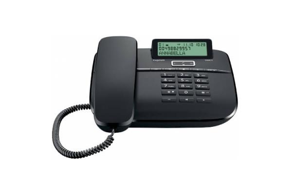 TELEFONO DA611 NEGRO GIGASET