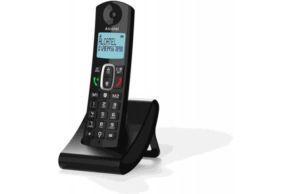 TELEFONO FIJO ALCATEL F685 NEGRO
