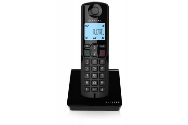 TELEFONO FIJO ALCATEL S250 NEGRO