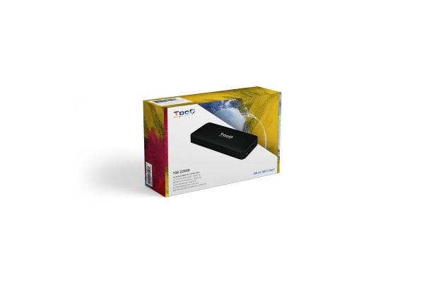 CAJA EXTERNA TOOQ PARA SSD M.2 MVME PCI TQE-2280B