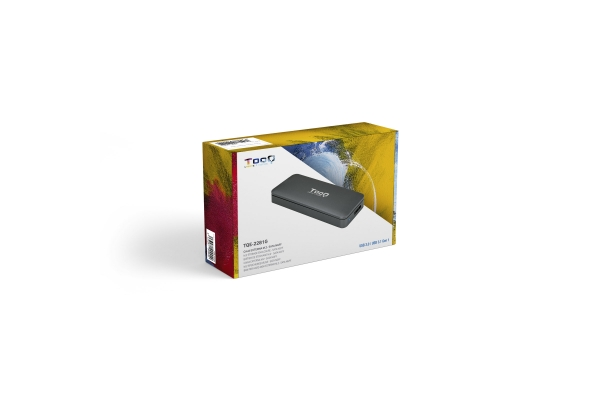 CAJA EXTERNA TOOQ PARA SSD M.2 NGFF TQE-2281G