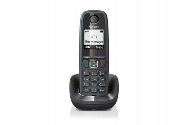 TELEFONO FIJO DIGITAL GIGASET AS405 NEGRO